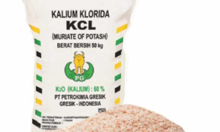 Jenis Pupuk Kimia KCl